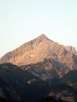 Alpspitze, Morgenstimmung am Hausberg von Garmisch-Partenkirchen