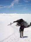Großglockner, hier beim Aufstieg von der Adlersruhe zum Glocknerleitl