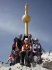 Zugspitzel, im Aufstieg durchs Höllental aus eigener Kraft erreicht