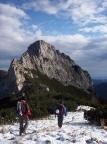 Ruchenköpfe im Mangfallgebirge, beim Zustieg vom Rotwandhaus