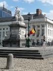Im Regierungsviertel von Brüssel - selbst dort sind Geocaches geduldet