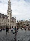 Unser erster Weg in Brüssel führte auf den Grand Place - ein beeindruckender Ort