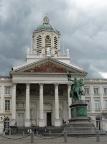Im Bereich der königlichen Paläste von Brüssel