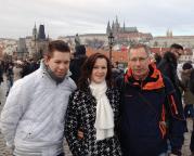 Das war 2015 -  Das Jahr begann mit Silvester - Neujahr in Prag, ein wirklich würdiger Jahresbeginn.