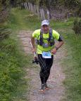 Das war 2015 - Zieleinlauf beim Fichtelbergultra - danke Volker, für diese großartige Laufidee, Juni