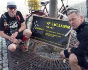 Das war 2015 - JUNUT, schon hier hätte ich aufgeben sollen - Volker kommt nach grandiosen 33,5 Stunden ins Ziel der 172 km, April