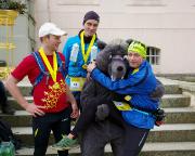 Das war 2015 - Tolles Laufevent unter unserer Organisation - gute Stimmung im Ziel des Ludwig-Leichhardt-Trail Ultralaufes, Februar