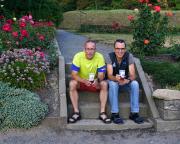 Mal ein kurzer, schneller, aber auch recht anspruchsvoller Lauf – mit Volker nach dem Festungslauf auf die Festung Königstein