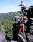 17.08.2003 - Sprung des Alten Weges am Adlerkopf