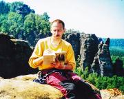 25.03.2003 - Gipfelbucheintrag auf dem Bloßstock nach Altem Nordweg V