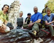 September 2003 - Beim ersten Vereinsklettern des KSV Quackensturm auf dem Mandarin