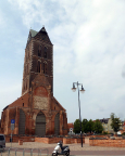 Kurztripp nach Wismar - Mahnmal der besonderen Art - bis auf den Turm ist diese Kirche Opfer der Bombardierungen im 2. Weltkrieg geworden.e