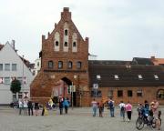 Kurztripp nach Wismar - Ein schönes altes Stadttor, übrigens Kulisse des Filmes Nosferatu aus den 30er Jahren.