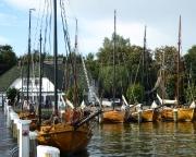 Ostseeurlaub 2017 – Blick in den Boddenhafen von Ahrenshoop - Althagen