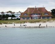 Ostseeurlaub 2017 – Blick von der Seebrücke auf das Kurhaus von Zingst