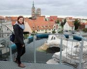 Ostseeurlaub 2017 – auf dem Dach des Ozeaneum in Stralsund