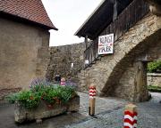 Kunst an der Mauer in Rothenburg – die hat dann leider gefehlt