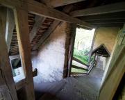 Blick in das Innere einer der Rothenburger Wachtürme
