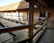 Viele hundert Meter ziehen sich die Wehrgänge der Reichsstadt Rothenburg hin