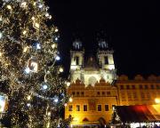 Jahreswechsel 2015 - 2016 in Prag - Auc heuer einfach verblüffend schön - Weihnachtsmarkt am Silvesterabend!