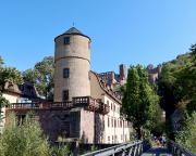 Blick auf die ehemalige fürstliche Hofhaltung von Wertheim