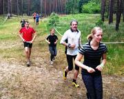 Krass fit bei den XletiX - Natürlich gibt es auch normale Laufpassagen, irgendwie muss man ja auf die 22 km kommen.