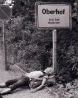 Ankunft in Oberhof - einfach nur erschöpft