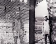 Damals war's - Ein echter Höhepunkt am Rennsteig war unsere Tour im Sommer 1990. Die innerdeutsche Grenze war gefallen, der Rennsteig war wieder gänzlich zu begehen. Allerdings musste man die Grenze schon noch merklich passieren, denn sie war lediglich durch ein Loch im Grenzzaun zu übertreten.