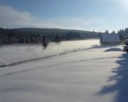 Winterliche Morgenstimmung in Klein Iser - Jizerka