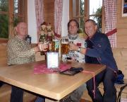 Zurück im Tal - ein Bierchen zum Trost in der Talschlusshütte