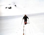 Zustieg von der Oberwalderhütte zur Johannisberg Nordwand