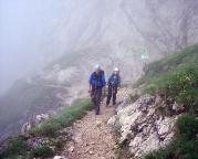 Alpspitz-Ferrata - auf den letzten Metern zurück zum Osterfelderkopf