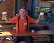 Alpspitz-Ferrata - egal von welcher Tour man kommt: an der Oase Bergstation Osterfelderkopf