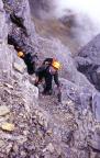 Auf dem Rotstock - Klettersteig Nordwandfeeling