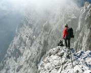 Watzmann-Überschreitung - Und dann kommt er, der Blick in die Watzmann-Ostwand!!!