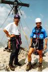 Watzmann-Überschreitung - auf dem Gipfel der Südspitze und doch noch nicht das Finale!