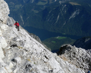 Watzmann-Überschreitung - der Abstieg ist absolut nicht zu unterschätzen!!!