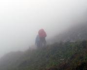 Pech bei unserer Tour 2009: am Anreisetag war schlechtes Wetter.