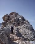 Höllental - und dann ist es soweit - endlich ist der begehrte Gipfel in greifbarer Nähe