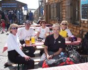 Zugspitze via Höllental - das haben wir uns verdient, Gipfelbiere