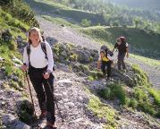 Höllental – auf den letzten Metern zum Einstieg in den Klettersteig