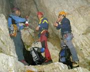Geoße Zinne - Normalweg - erste kurze Rast 2004