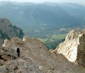 Jubiläumsgrat - kurz vor erreichen der Grießkarscharte