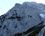 Der Predigstuhl (Vordergrund) im Karwendel-Gebirge.
