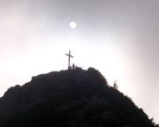 Der Gipfel des Roßsteins in einer ganz besonderen Stimmung.