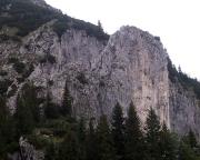 So sieht man die Rosssteinnadel im Zustieg vom Tal - von Nadel nix zu merken ;)