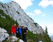 Unser Top-Team vor dem Gipfel unseres Erfolges,