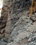 Torre Barancio - Dibona - der untere Wandteil
