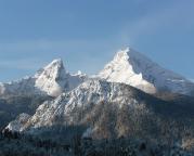 Der Watzmann, er gehört zu den schönsten Berggebilden der Welt