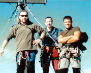 2001 - Auf dem Gipfel der Südspitze